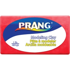 Prang Modeling Clay - Clay Craft - 1 Pack - Red