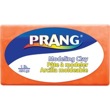 Prang Modeling Clay - Clay Craft - 1 Pack - Orange