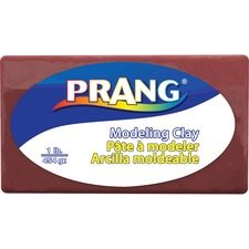 Prang Modeling Clay - Clay Craft - 1 Pack - Brown