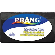Prang Modeling Clay - Clay Craft - 1 Pack - Black
