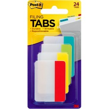 MMM 686ALYR 3M Post-it Filing Tabs MMM686ALYR