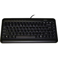 A4tech Slim Multimedia Keyboard Low Profile Compact Layout Ergoguys