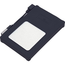 """Manhattan Hi-Speed USB, SATA, 2.5"""" Drive Enclosure, Black Silicone"""
