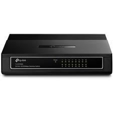 TP-LINK TL-SF1016D 16-Port 10/100Mbps Desktop Switch, 3.2Gbps Capacity