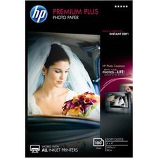 HEW CR666A HP Premium Plus 4x6 Soft Gloss Photo Paper HEWCR666A