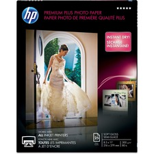 HEW CR671A HP Premium Plus Soft Gloss Photo Paper HEWCR671A