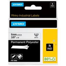 DYM 18482 Dymo Rhino Permanent Poly Labels DYM18482