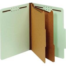 PFX 24076R Pendaflex 2-divider Recycled Classifictn Folders PFX24076R
