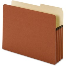 "Globe-Weis TUFF Pocket File Pocket - 10"" x 11.75\"" - 2/5 Cut Tab on Right - 3.5\"" Expansion - 25 / Box - 9pt."