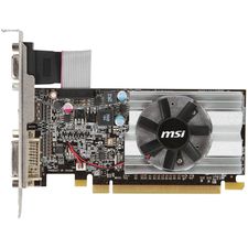MSI R6450-MD1GD3/LP Radeon HD 6450 Graphic Card - 625 MHz Core - 1 GB DDR3 SDRAM - PCI Express 2.1 x16 - Low-profile