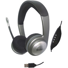 Syba Stereo Headphone with Built-in Microphone / Mfr. No.: Cl-Cm-5008-U