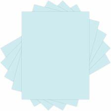 "Domtar Colors 81042 Inkjet, Laser Copy & Multipurpose Paper - Blue - 97% Opacity - Letter - 8 1/2"" x 11"" - 67 lb Basis Weight - Vellum - 250 / Pack"