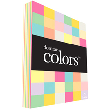 """Domtar Colors 81044 Inkjet, Laser Copy & Multipurpose Paper - Canary - 97% Opacity - Letter - 8 1/2"""" x 11"""" - 67 lb Basis Weight - Vellum - 250 / Pack"""