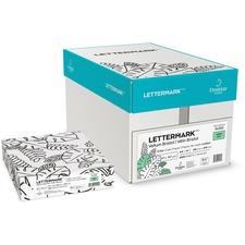 "Domtar Colors 81040 Inkjet, Laser Copy & Multipurpose Paper - Green - 97% Opacity - Letter - 8 1/2"" x 11"" - 67 lb Basis Weight - Vellum - 250 / Pack"
