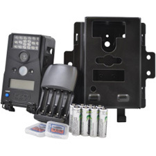 Wildgame 20 Infrared Led Flash Portable Security Bundle