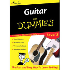 Emedia Music Guitar For Dummies Level 2 - Music Training Course