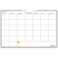 AAGAW402028 - At-A-Glance WallMates Self-Adhesive Dry Erase Monthly Plan Surface
