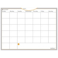 AAGAW502028 - At-A-Glance WallMates Self-Adhesive Dry Erase Monthly Plan Surface