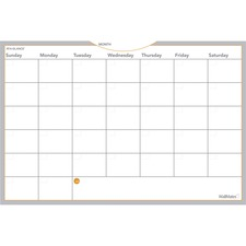 AAGAW602028 - At-A-Glance WallMates Self-Adhesive Dry Erase Monthly Plan Surface