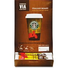 SBK 11008130 Starbucks VIA Ready Brew Italian Roast Coffee SBK11008130