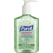 GOJ 967412 GOJO Purell Aloe Advanced Hand Sanitizer GOJ967412