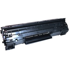 EcoTek CB435A-ER Toner Cartridge - Remanufactured for HP (CB435A) - Black