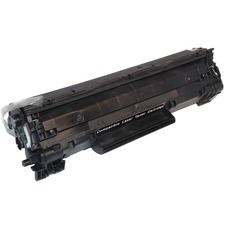 EcoTek CB436A-ER Toner Cartridge - Remanufactured for HP (CB436A) - Black