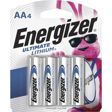 EVE L91SBP4 Energizer Ultimate Lithium AA Batteries EVEL91SBP4