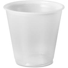 SCC P35APK Solo Cup 3.5 oz. Small Plastic Cups SCCP35APK