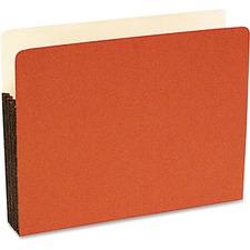 SJP S75101 SJ Paper Durable Redrope Expanding File Pockets SJPS75101