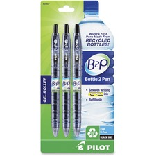 PIL 31607 Pilot B2P BeGreen Fine Point Gel Pens PIL31607