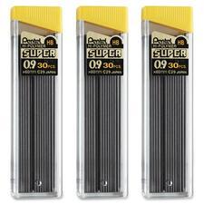 PEN C29BPHB3 Pentel Super Hi-Polymer 0.9mm Lead Refill PENC29BPHB3