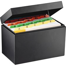 MMF 263855BLA MMF Industries All-Steel Card File Box MMF263855BLA