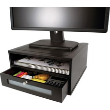 VCT 11755 Victor Midnight Black Coll. Wood Monitor Riser  VCT11755