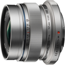 Olympus M.ZUIKO DIGITAL V311020SU000 - 12 mm - f/2 - Wide Angle Lens for Micro Four Thirds