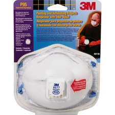 MMM 8577PA1B 3M Painting/Refinishing Projects Respirator  MMM8577PA1B