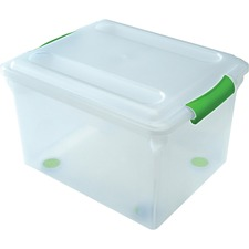 IRS 140010 Iris Stor N Slide Plastic Storage File Boxes IRS140010