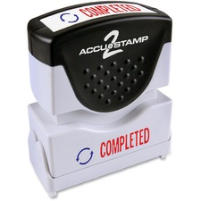 COS 035538 Cosco Accustamp 2-color Shutter Stamp COS035538