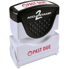 COS 035571 Cosco Accustamp Red Shutter Stamp COS035571