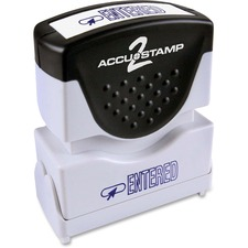 COS 035573 Cosco Accustamp Blue Shutter Stamp COS035573