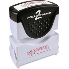 COS 035580 Cosco Accustamp Red Shutter Stamp COS035580