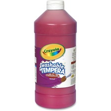CYO 543132038 Crayola Washable Tempera Paint CYO543132038