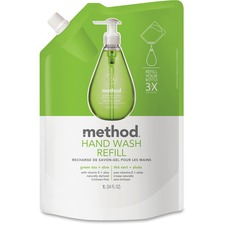 MTH 00651 Method Products Green Tea/Aloe Hand Wash Refill MTH00651