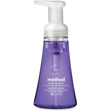 MTH 00363 Method Products French Lavender Foaming Hand Wash MTH00363