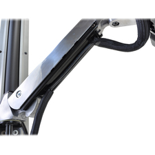Ergotron StyleView Sit-Stand Combo Arm with Worksurface