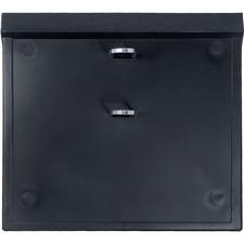"Blueline Jumbo Calendar Stand - 8.25"" (209.55 mm) x 7.25"" (184.15 mm) x - Plastic - 1 Each - Black"