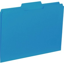 BSN 43562 Bus. Source 1/3-cut Colored Interior File Folders BSN43562