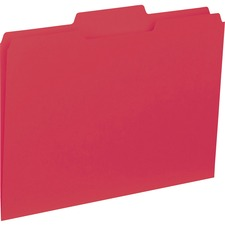 BSN 43564 Bus. Source 1/3-cut Colored Interior File Folders BSN43564