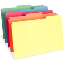BSN 65781 Bus. Source 1/3 Cut One-Ply Tab Legal File Folders BSN65781