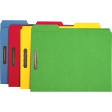 SPR SP17571 Sparco 2-ply Tab Colored Letter Fastener Folders SPRSP17571